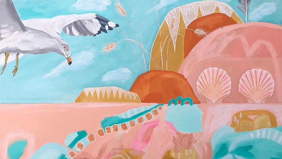 'My wonderland' original painting