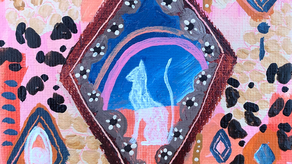 Tiny treasures painting ~ Number five