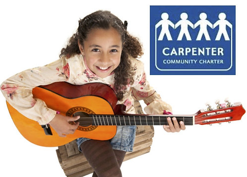 Guitar INTERMEDIATE Carpenter 3rd, 4th & 5th Gr. MONDAYS 4pm (15 Classes)
