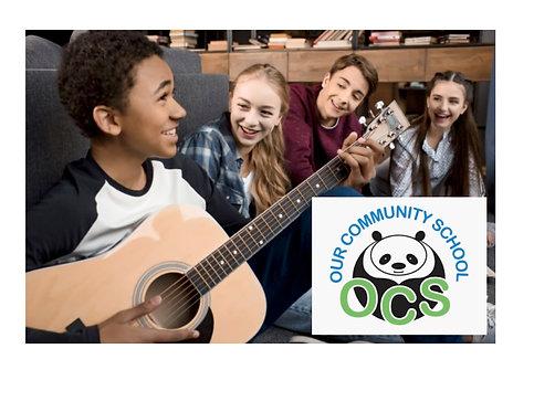 Guitar After School: OCS 6th & 8th Grades- FRIDAYS 3pm (14 Classes)