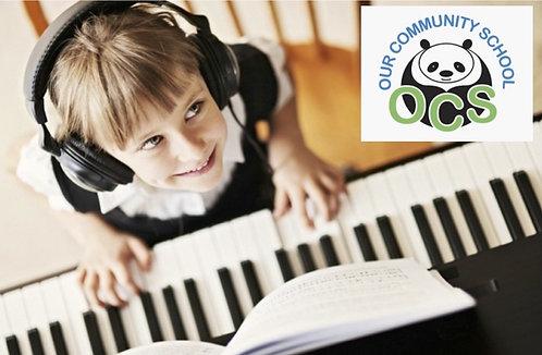 Piano After School: OCS 5th Grades- WEDNESDAYS 3pm (11 Classes)