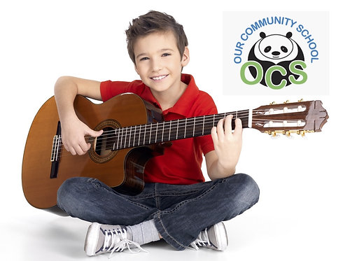 Guitar After School: OCS 3rd to 5th Grades WEDNESDAYS 3pm (11 Classes)