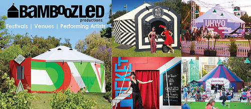 Bamboozled Productions Venue Hire Spiegeltent Circus Tent Hire Ukiyo The Parlour Rastelli Little Palais Adelaide Fringe Pocket Stirling Fringe