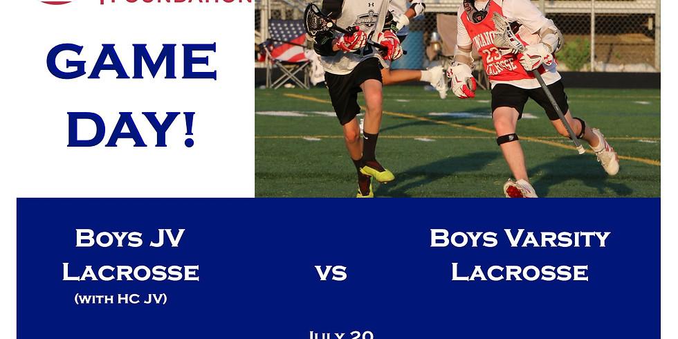 KCF Boys JV Lacrosse vs. KCF Boys Varsity Lacrosse