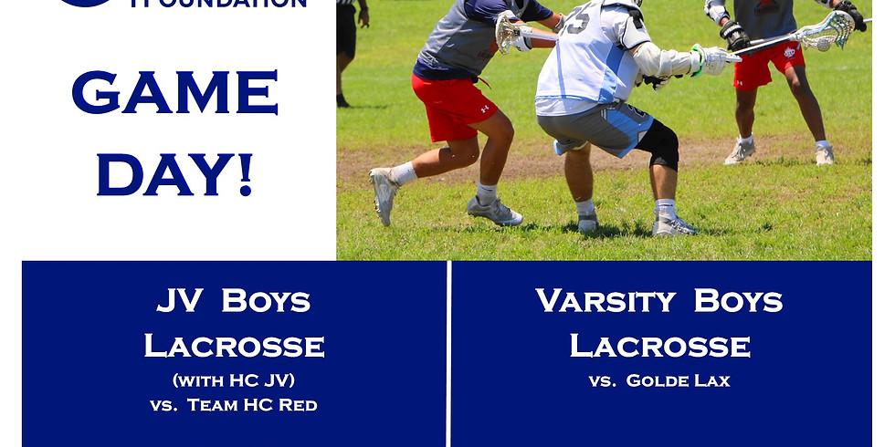 KCF Boys JV Lacrosse Game