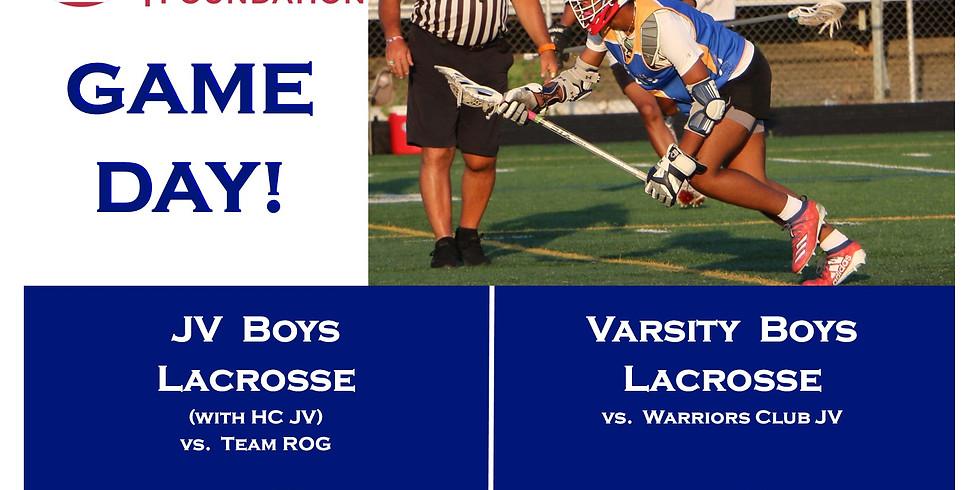 KCF JV Boys Lacrosse (with HC JV) vs Team ROG