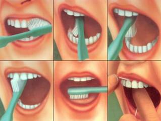 Как правильно ухаживать за зубами.