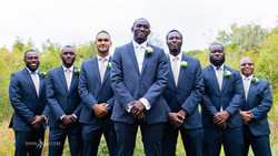 The groom and his squad