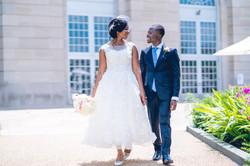 DC Wedding Couple - K.J. and Elikia