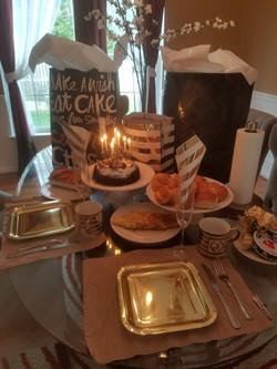 Birthday Breakfast Decor 2