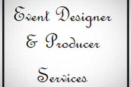 Event Designer & Producer