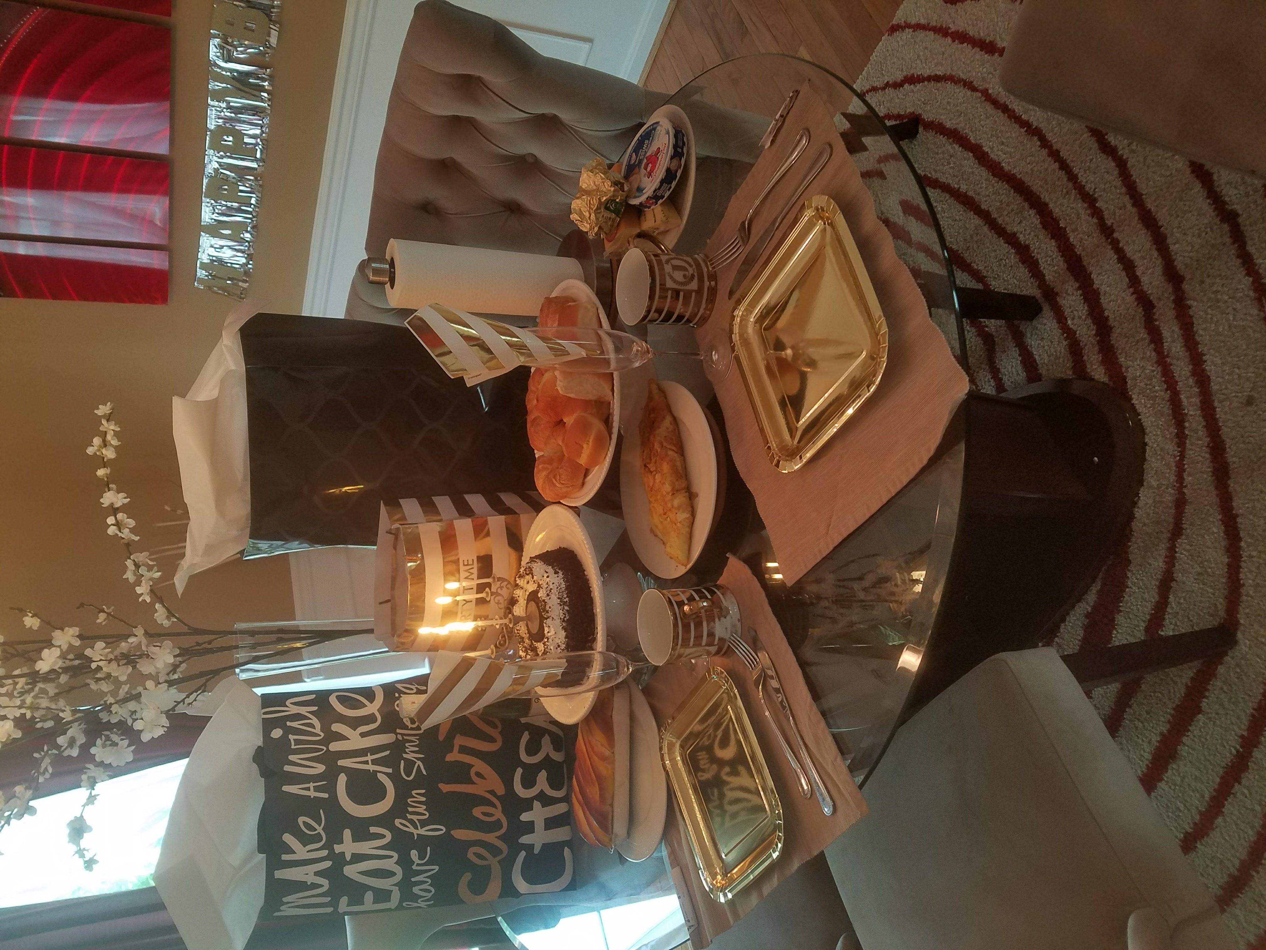 Birthday Breakfast Decor 3