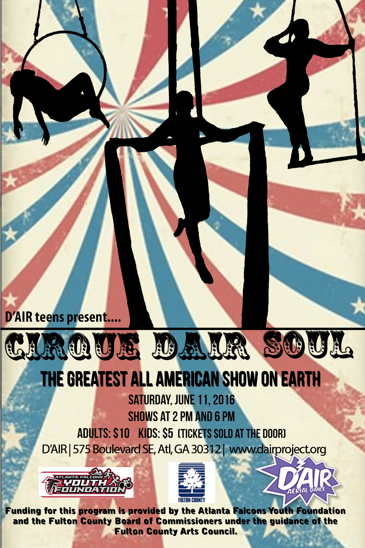 TeenCircus Flyer