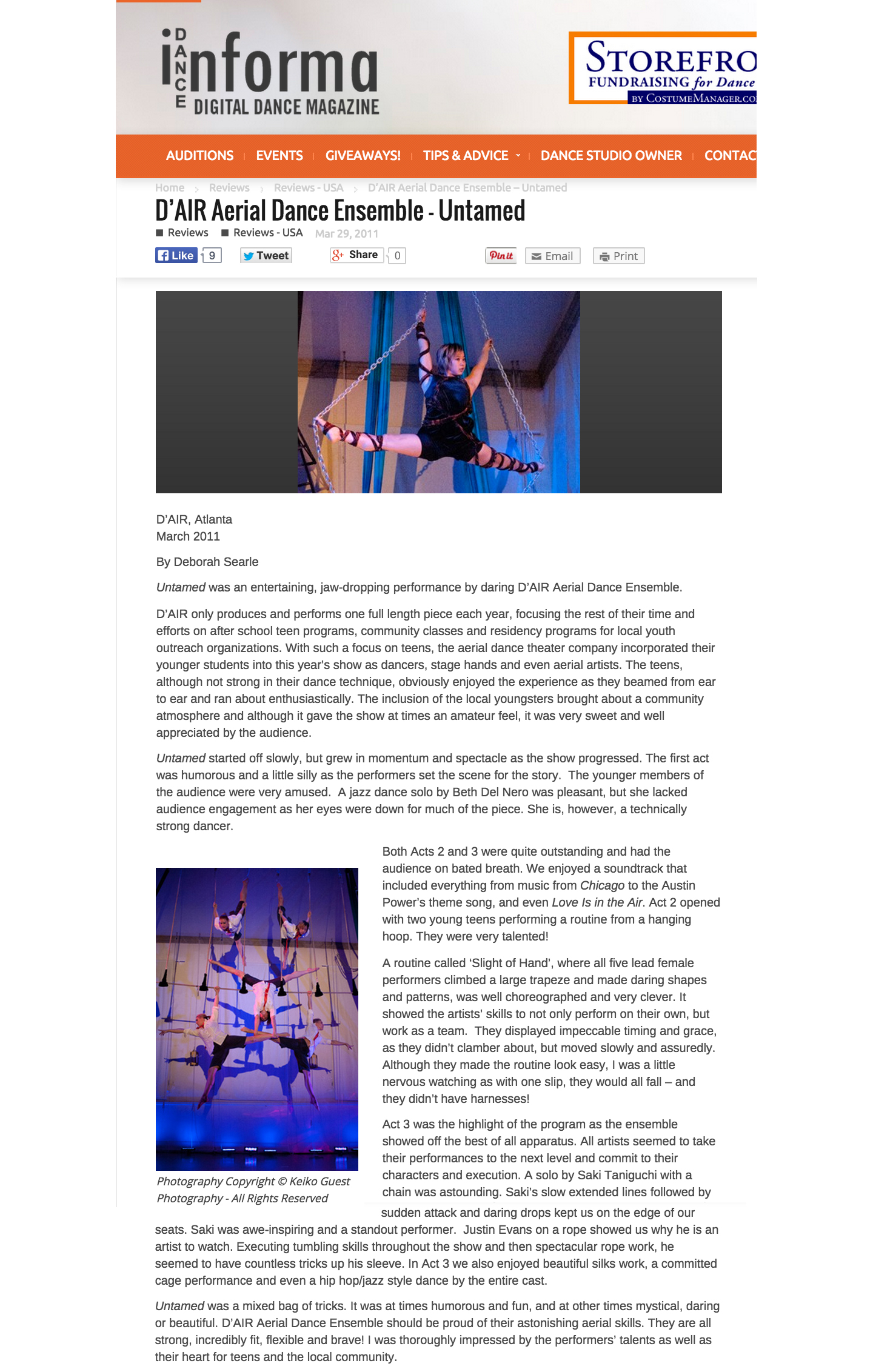 D'AIR Aerial Dance Ensemble Dance Informa Magazine.jpg