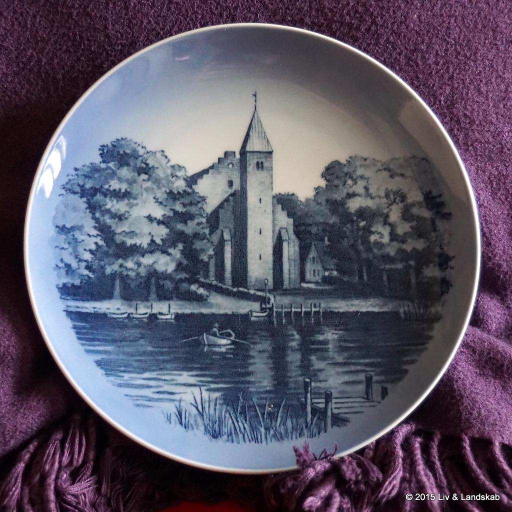 Kgl. Porcelæns Maribo platte
