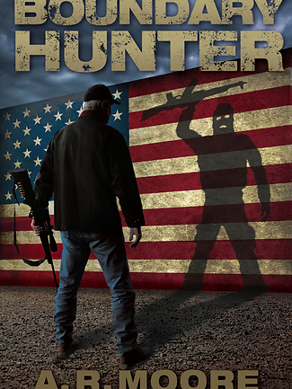 Cover - Boundary Hunter by A.R. Moore