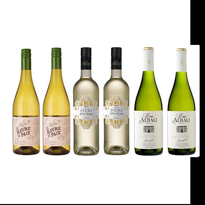 Easy Drinking Mixed White Case x 6 Bottles
