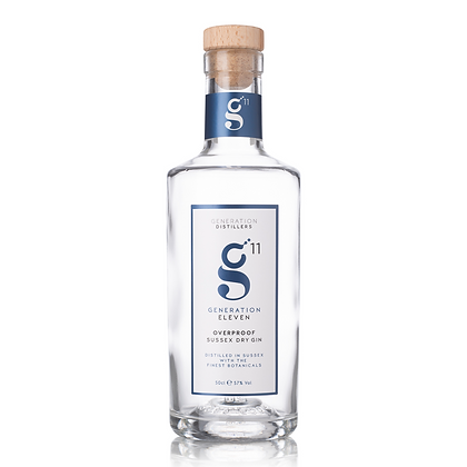 Generation 11 Overproof Sussex Dry Gin