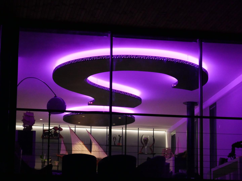 Plafonnier décoratif LED (vue 3)