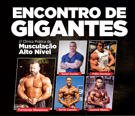 Encontro de Gigantes - Musculação (Manaus)