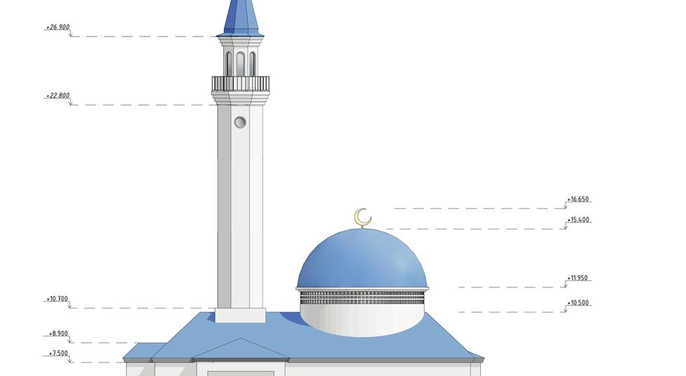 Арт Хаус проект Мечети вид 6