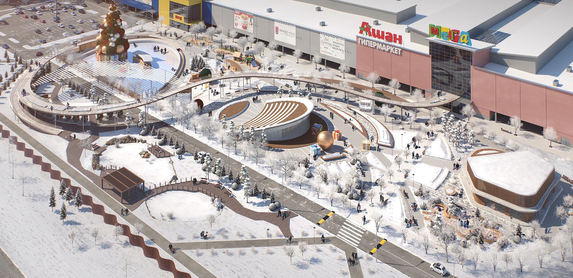 Арт Хаус проект Мега Парка-общий план-2j