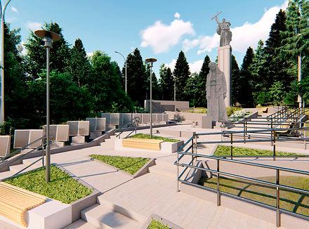 Памятник Победы-общий вид