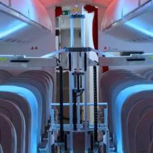 These Swiss robots use UV light to zap viruses aboard passenger planes