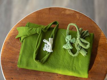 Groen (wrap + hoofdbandje)