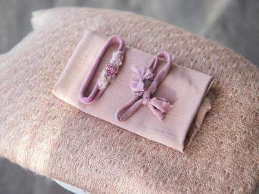 Oud roze wol