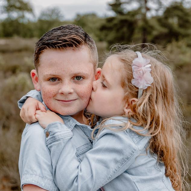 Fotograaf Lier - broer en zus