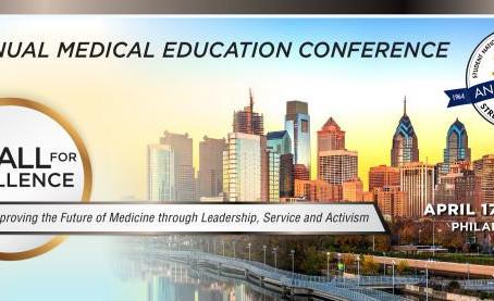 2019 Annual Medical Education Conference, April 17-21, 2019, Philadelphia, PA