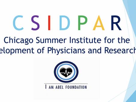 New! CSIDPAR Coming Summer 2021!