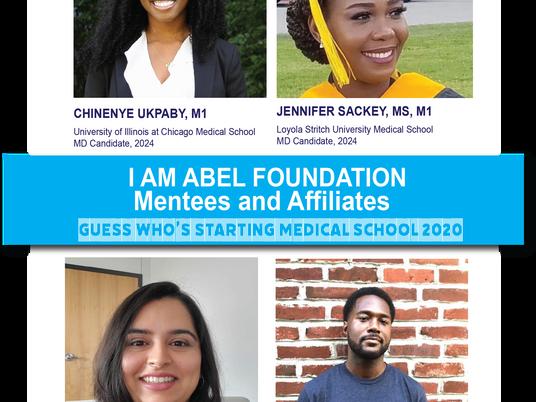 Congratulations! I Am Abel Foundation Mentees and Affiliates