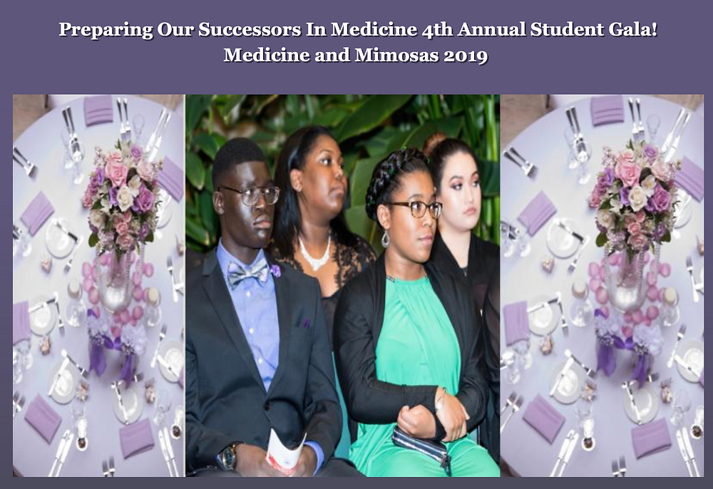 """Join I Am Abel on its 4th Annual Student Gala """"Medicine and Mimosas 2019""""! Register now, click here"""