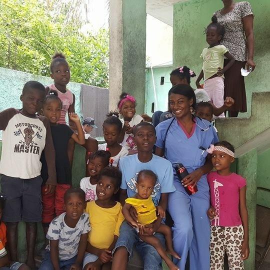 Dr. Joy Elion in Haiti