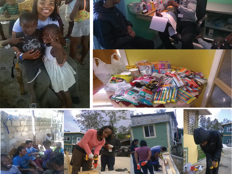A look back at our Scholars on their Humanitarian Mission to Haiti, Christmas Break 2016