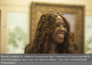 Dr. LaMenta Conway, MD of I Am Abel Foundation is in the Oak Park News, read about it. Click