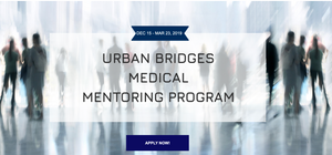 Ready to apply for I Am Abel's Urban Bridges Medical Mentoring Program? Click here