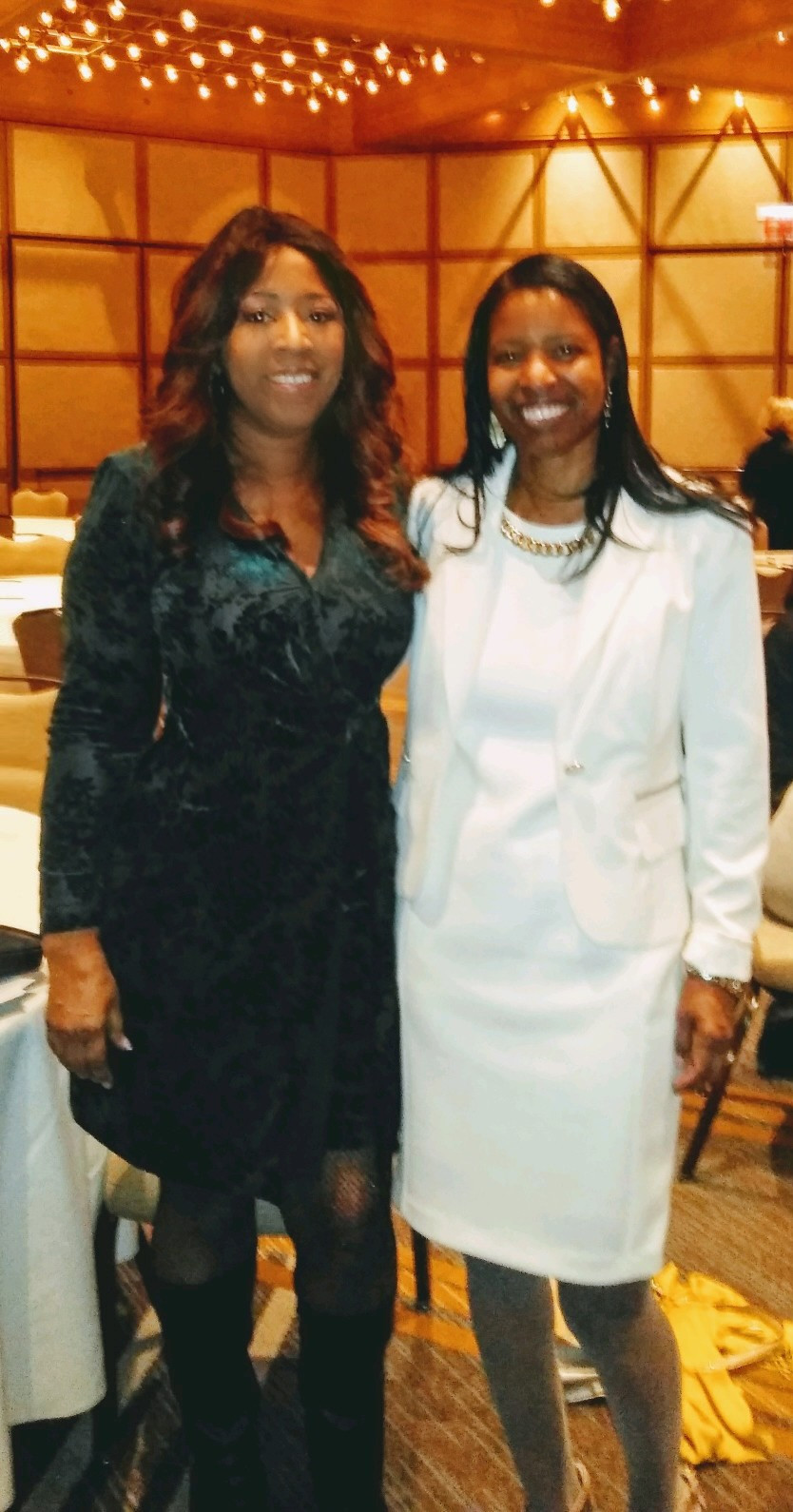 """Dr LaMenta """"Sweety"""" Conway with Dr Daisy Dowell, """"Beauty for Ashes"""""""