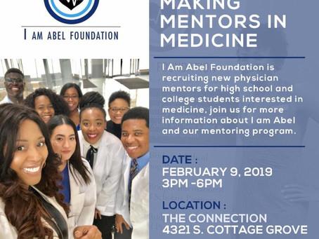 Mentors Making Mentors in Medicine Reception, Feb 9!
