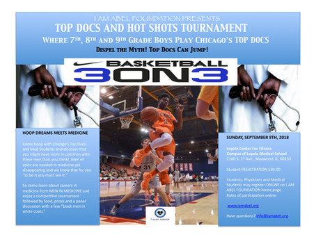 3 on 3 Basketball Conference: HOOP DREAMS MEET MEDICINE. Register Now!