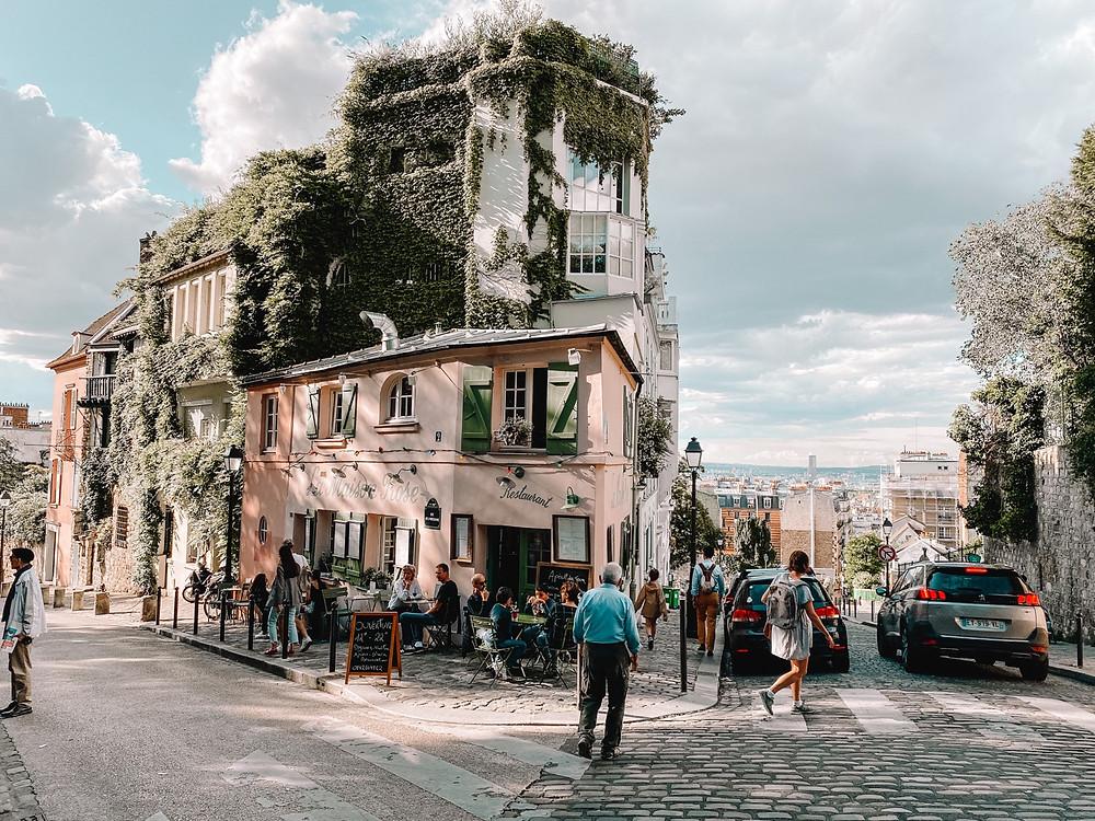 Montmartre la maison rose