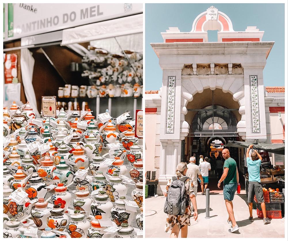 Loule market portugal