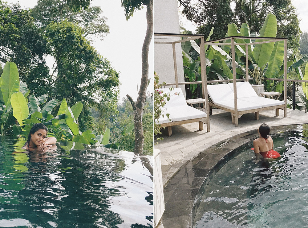 ubud hotel with private swimming pool