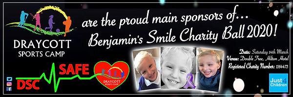 Benjamin Smile Main Sponsor Banner 2020.