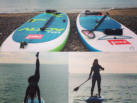 Yoga on your board