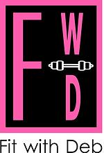 logo fit with deb pink black dumbbell.pn