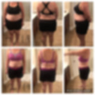 before after michele L total transformat