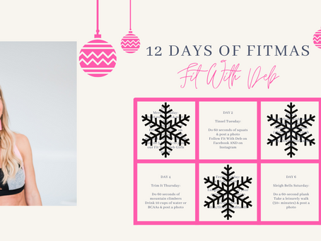 12 Days of Fitmas!
